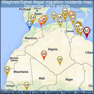 Maghreb Sahel Illegal Migrations Cases Dec15